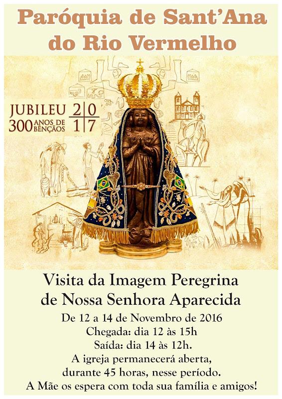 Imagem de Nossa Senhora Aparecida visita Rio Vermelho dia 12