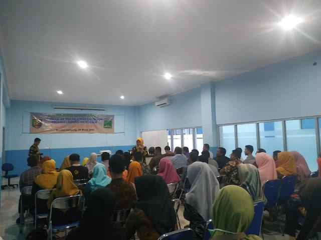 Asosiasi Kesehatan Haji Indonesia (AKHI) Provinsi Lampung mengadakan pembekalan Pra Workshop Calon Petugas Haji Indonesia ( PKHI )