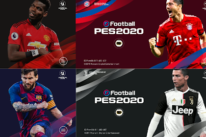 PES 2020 MOBILE PATCH NEW STARTSCREEN BACKGROUND KITS V4.0.2