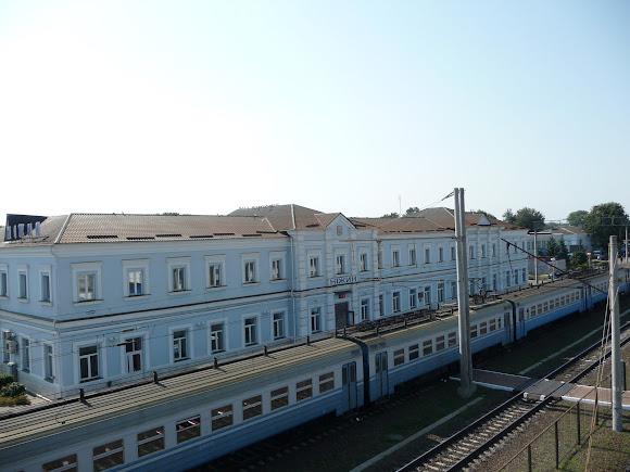 Нежин. Железнодорожный вокзал. 1868 г.