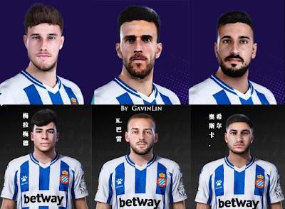 PES 2021 Facepack Espanyol by Gavinlin