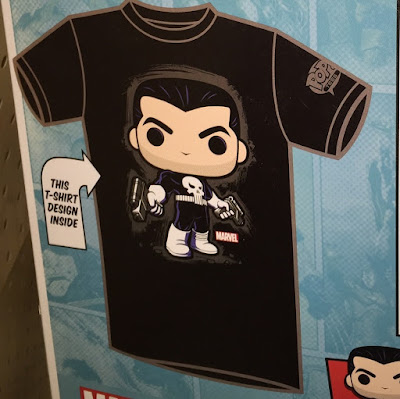 Target Exclusive The Punisher Pop! Tees Marvel T-Shirt by Funko