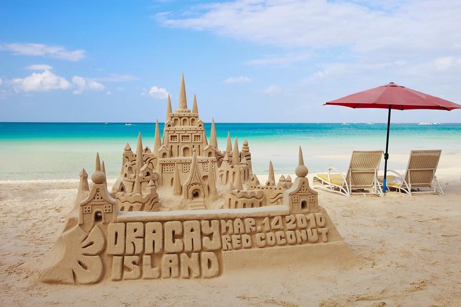 A Sand Castle in Boracay