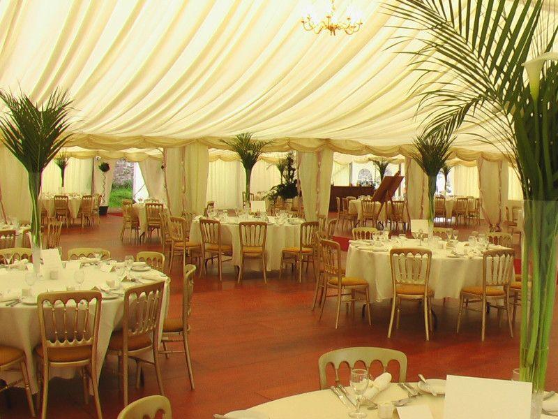 Decorating Wedding Reception