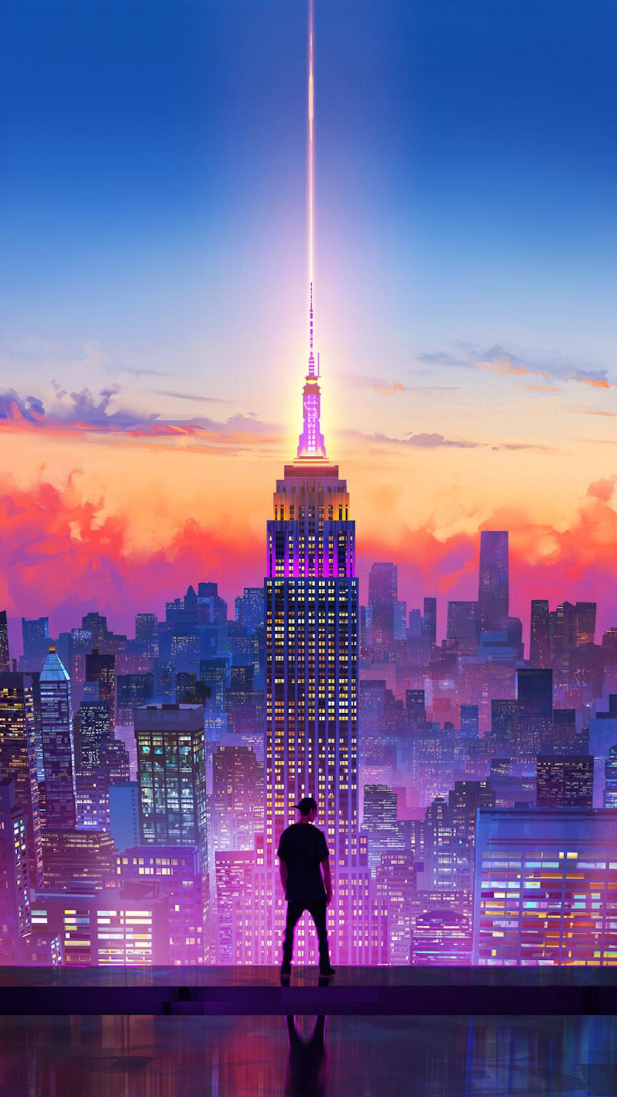 Alone walker city