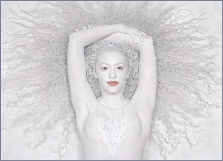 Image result for white body art