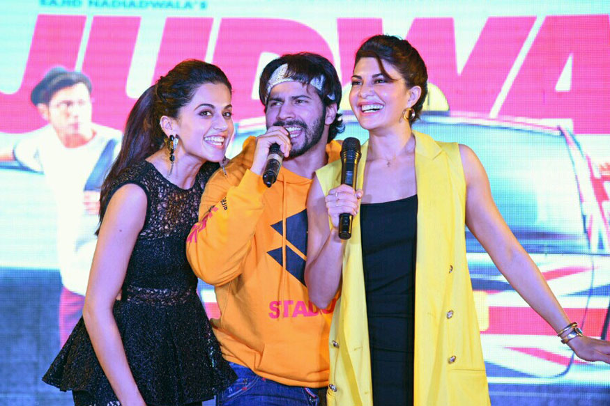 'Judwaa 2' Promotional Event Stills In Delhi