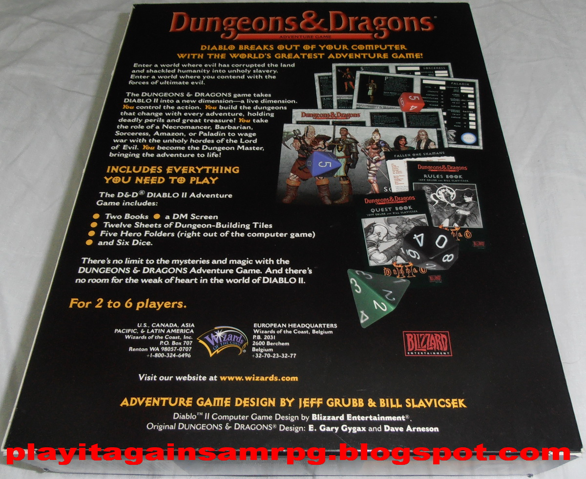 dungeons and dragons diablo ii edition pdf