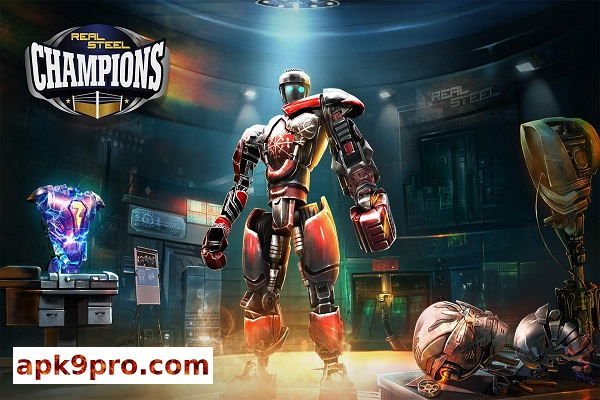 Real Steel Boxing Champions 2.4.112 Apk + Mod (File size 408 MB) + Data for android