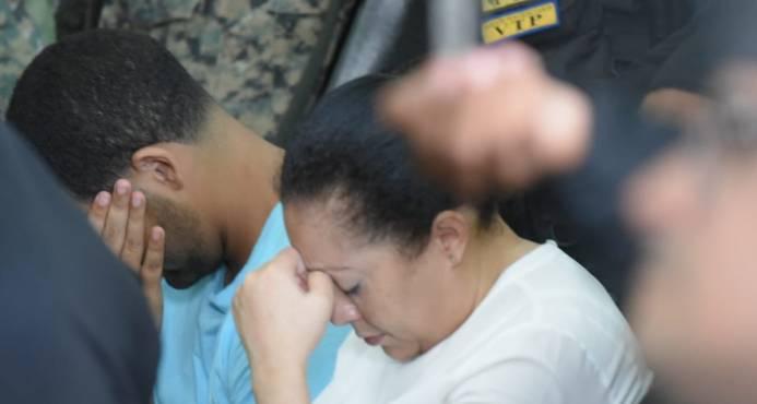 Jueza envía a juicio de fondo a Marlin Martínez y a su hijo por la muerte de Emely Peguero