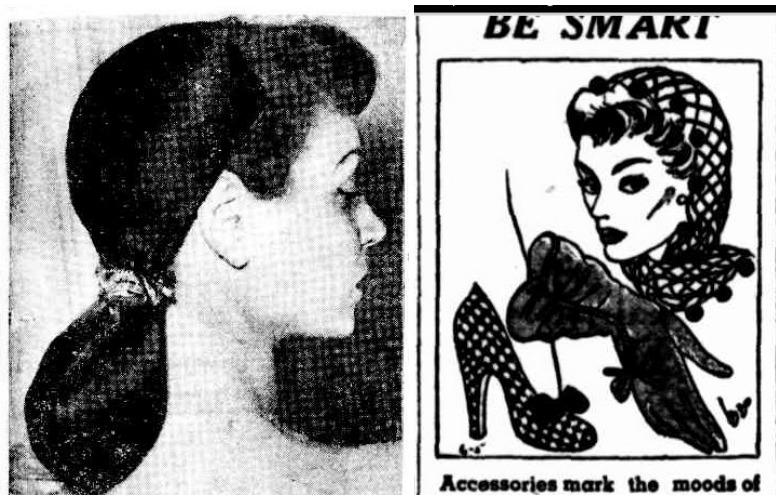 1950s snoods