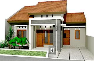 Ganbar 2 Desain Rumah Minimalis Type 54