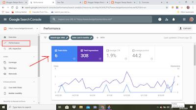 Melihat Performance Artikel Blog di Google Search Console