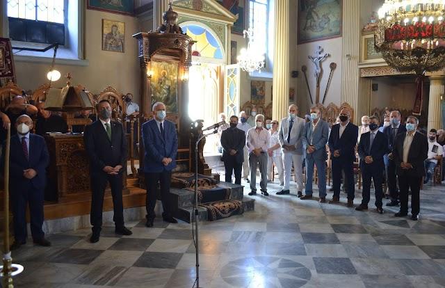 XΡΟΝΙΑ ΠΟΛΛΑ  Στην  Κυπαρισσία που γιόρτασε την Πεντηκοστή και το Άγιο Πνεύμα