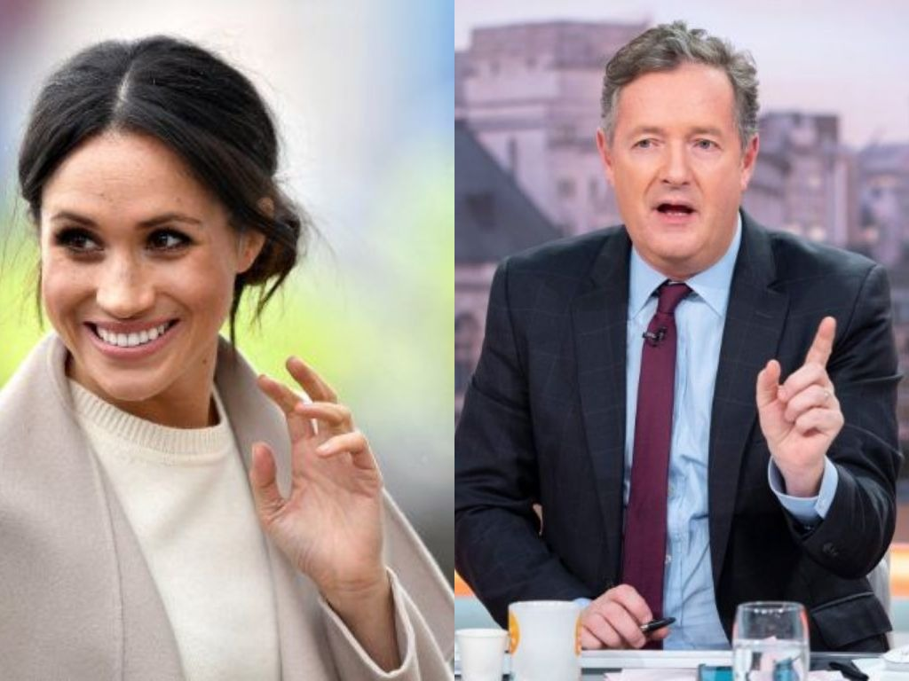 Piers Morgan Got Angry At Meghan Markle for 'behaving like a Kardashian'