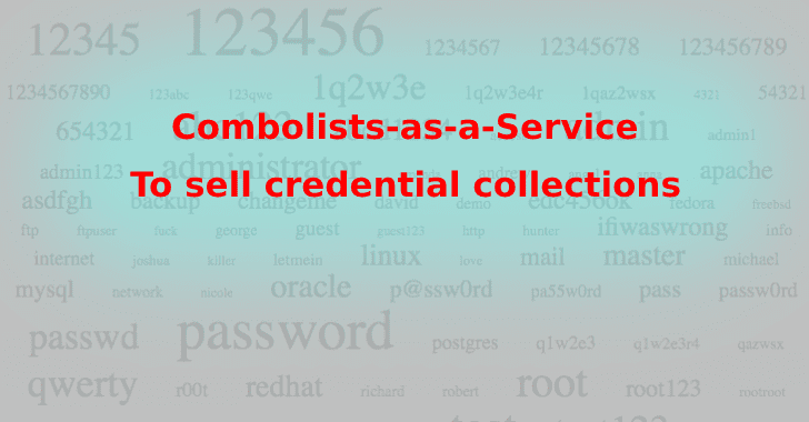 Combolists-as-a-Service - Crooks Sell Passwords on Hacking Forums