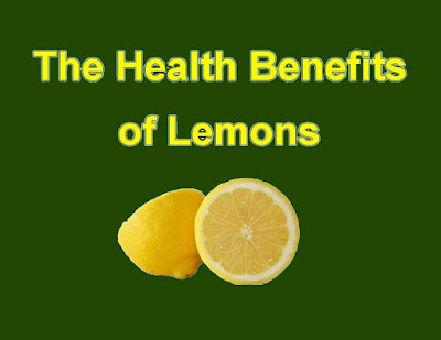Benefits of Lemons to The Body