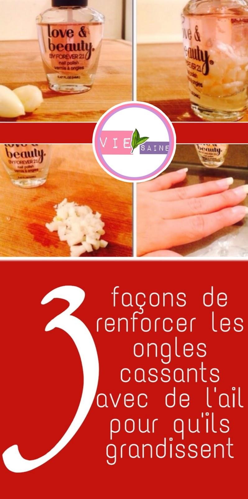 3 façons de renforcer les ongles cassants avec de l'ail pour qu'ils grandissent