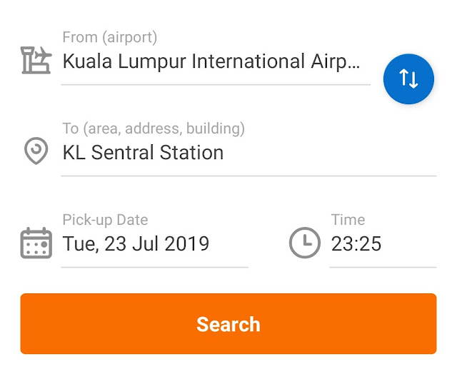 cheap KLIA transit deals online kat Traveloka