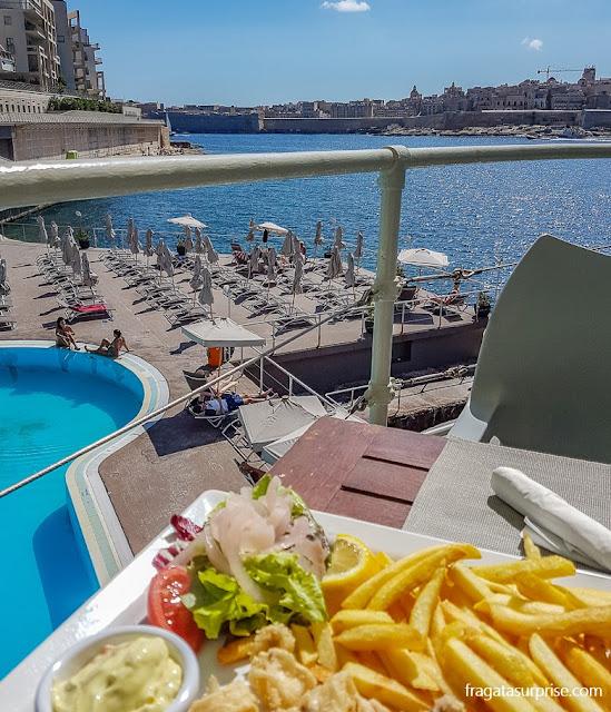 The Terrace beach club, Malta