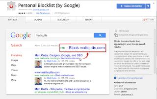 Personal Blocklist