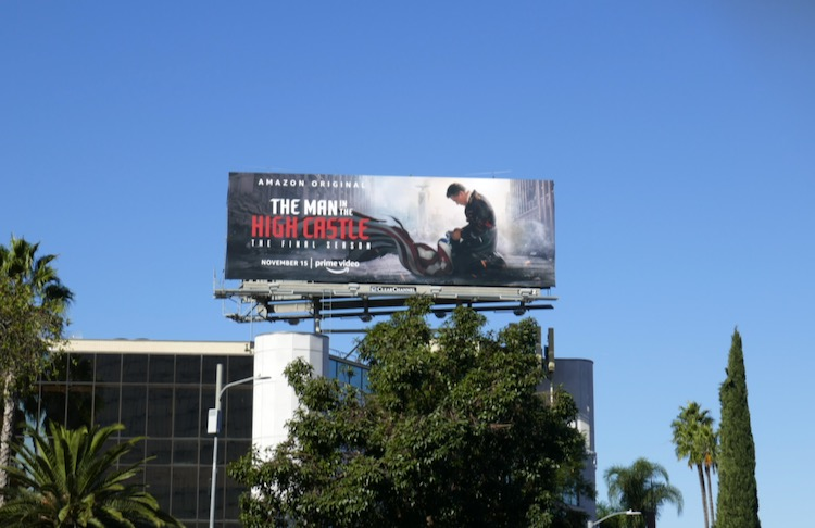 Man in High Castle season 4 billboard
