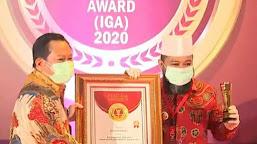 Video Penyerahan Penghargaan Kota Bengkulu Kategori Kota Sangat Inovatif