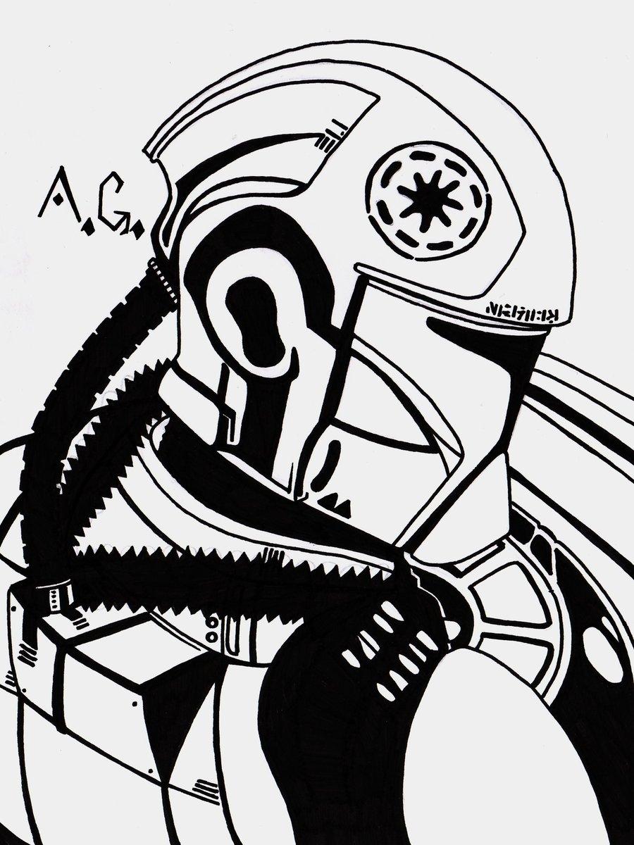 Asombroso Páginas Para Colorear Guerras De Las Galaxias Clon Imagen ...
