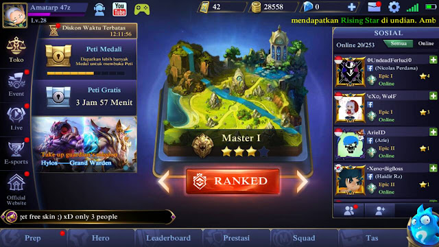 Cara Melihat Skor Kredit Mobile Legends