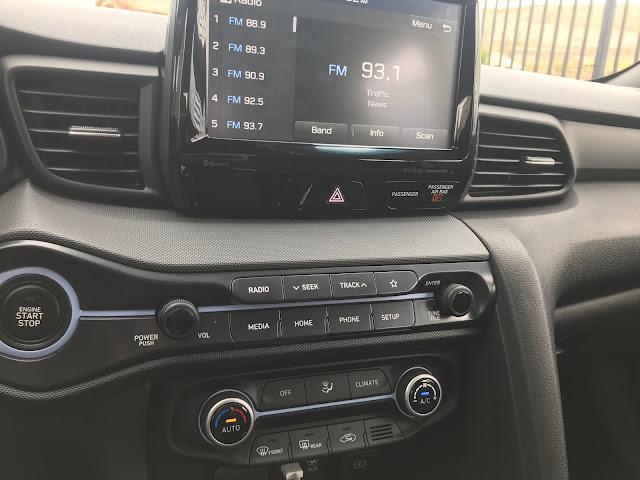 Media and HVAC in 2020 Hyundai Veloster N
