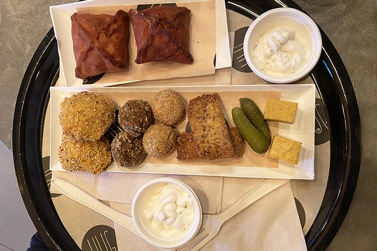 Vegan food a Monza