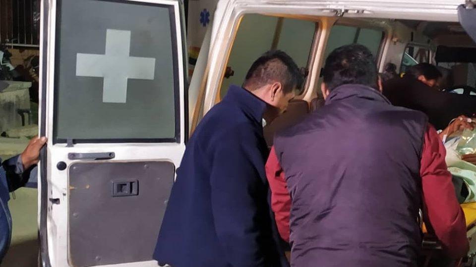 Ingreso de heridos a los centros médicos de Cochabamba / LOS TIEMPOS
