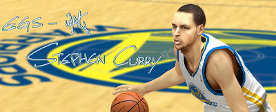 NBA 2K13 Stephen Curry Playoffs Face Update