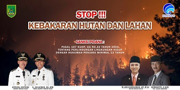 "Pemkab Rohil Sosialisasikan ""Stop Karhutla"""