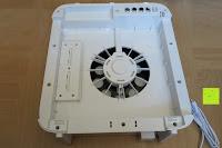 Gerät innen: Beurer LR 300 Luftreiniger mit HEPA Filter für 99,5% Filterleistung, ideal bei Heuschnupfen und zur Allergievorbeugung