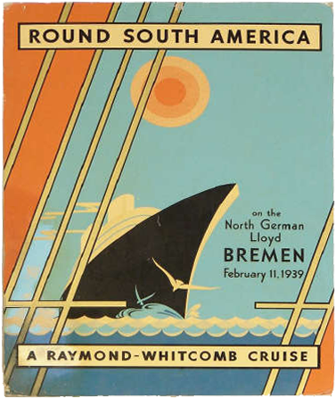 Round South America Cruise by Raymond Withcomb on board ss ts Bremen