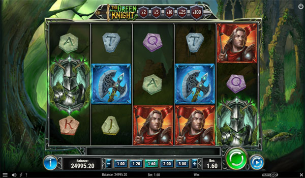 Main Gratis Slot Indonesia - The Green Knight Play N GO