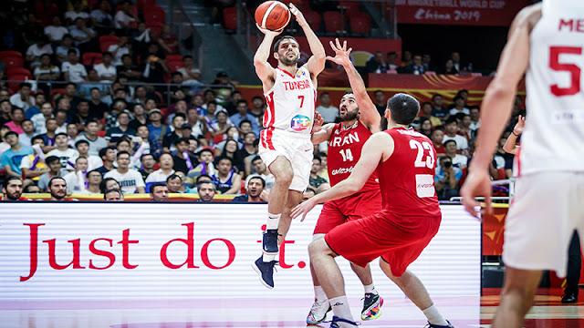 Basket-Mondial Chine 2019: la Tunisie s'impose face à l'Iran