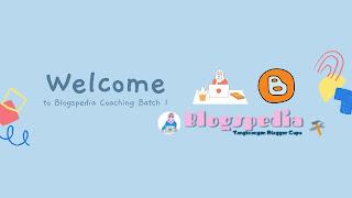 Pengumuman Blogspedia Coaching