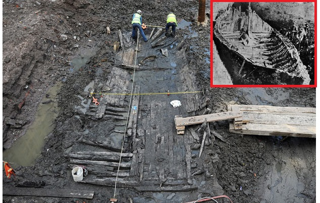ANCIENT VIKING SHIP DISCOVERED NEAR MISSISSIPPI RIVER