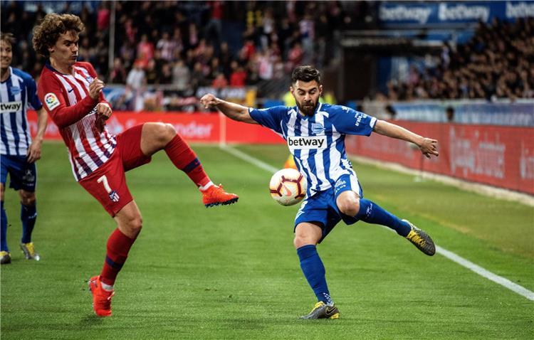موعد مباراة اتليتكو مدريد والافيس في الدوري الاسباني
