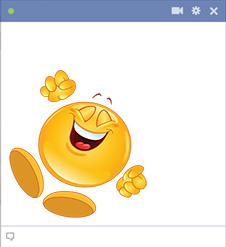 Cheerful Facebook Smiley