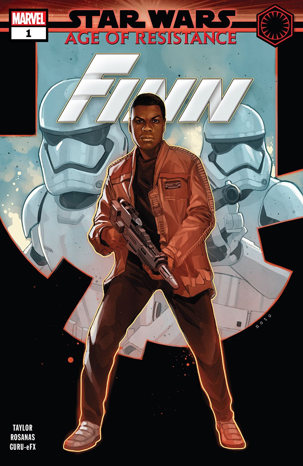 Poe Dameron #1 EMERALD CITY VARIANT signed x2 Charles Soule Phil Noto STAR WARS