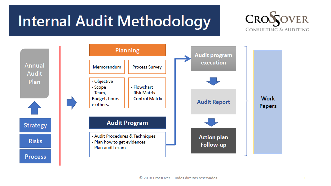 Simplifying the application of the risk-based audit methodology. | Eduardo Person Pardini, CICP