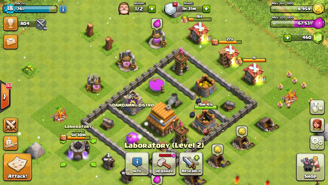 Baru Clash Of Clans 2015
