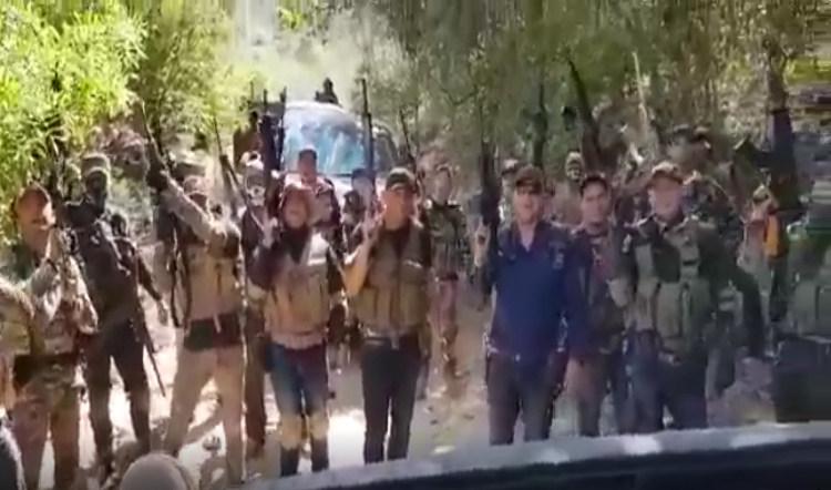 """Empecherados del CJNG avanza con tremendo """"ejército"""" y convoy de 50 trocas en región de La Montaña en Guerrero"""