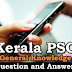 Kerala PSC General Knowledge Question and Answers - 91