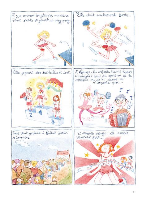 page de la boite de petit pois de GiedRé et Holly R chez Delcourt