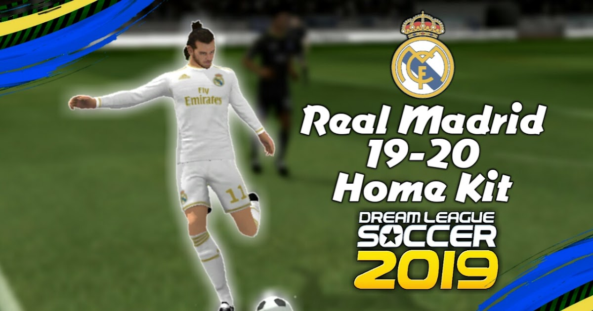 Real Madrid New Kit 19-20 For Dream League Soccer 2019