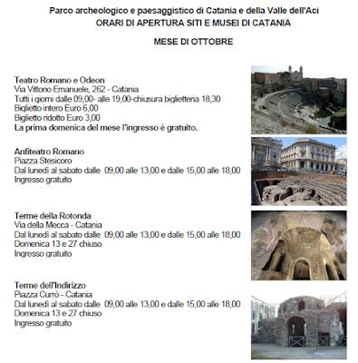 terme romane di Catania teatro anfiteatro